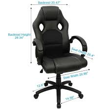 amazon com furmax office chair high back pu leather gaming chair