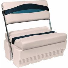 wise premier series pontoon flip flop bench seat and base