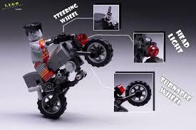lego honda lego colossus minifigures motorcycles bike custom moc marvel xmen