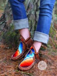 womens moccasin boots size 11 best 25 moccasin ankle boots ideas on moccasins