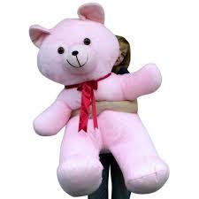 stuffed teddy bears walmart com american made 4 foot giant pink teddy bear soft 48 inch large