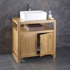 Oak Bathroom Vanity Cabinets by Cube Solid Oak Minimal Contemporary Bathroom Basin Washstand