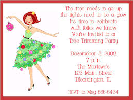 christmas brunch invitations trimming girl christmas party invitations