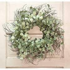 silver drop eucalyptus silver drop eucalyptus wreath berries and burlap trading co