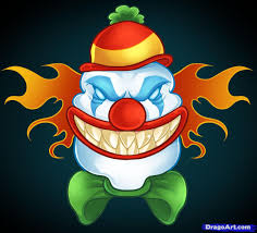scary halloween clipart scary halloween clown face clip art u2013 clipart free download