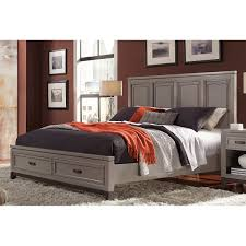 Cottage Platform Bed With Storage Beds Costco