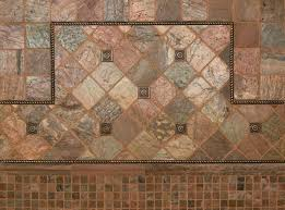 Tumbled Slate Backsplash by Copper Slate Backsplash Portland Direct Tile U0026 Marble