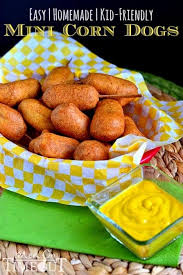 easy homemade kid friendly mini corn dogs mom on timeout
