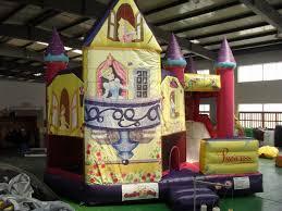 bounce house disney princess combo wholesale castle