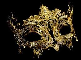gold masquerade masks are you still wanting to do the mask thing kelci antique