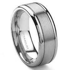 wedding bands for him titanium rings are a lot lighter and cheaper the look of
