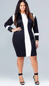 20 plus size black and white dresses black curves and clothes