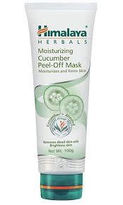Masker Himalaya moisturizing cucumber peel mask by himalaya herbals