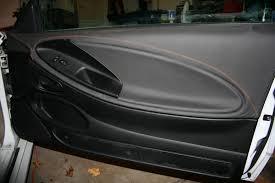 mustang door panel leather door panels now available for 94 04 mustangs