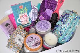 Mother S Day Gift Basket Mother U0027s Day Gift Idea Spa Basket Honey We U0027re Home Bloglovin U0027