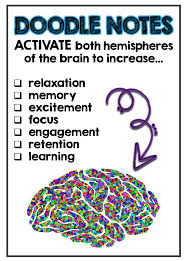 brain based doodle notes for education minds in bloom