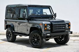 land rover wolf feast your eyes on this custom land rover defender