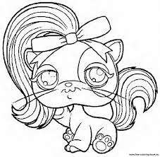 coloring pages littlest pet shop 1 printable coloring