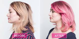 cut before dye hair how to care for pastel hair tips for pastel pink hair