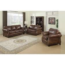 Leather Sofa Loveseat Loveseat Living Room Furniture For Less Overstock