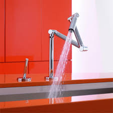 articulated kitchen faucet articulating kitchen faucet fujin us