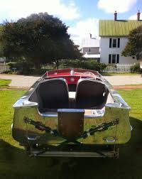 an aluminum wolverene classic boats woody boater