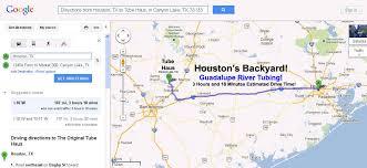 traffic map houston guadalupe river tubing near houston at haus lake tx