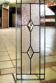 Glass Inserts For Kitchen Cabinets by Leaded Glass Kitchen Cabinet Door Swap The Red For Gold Or Amber