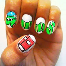 awesomely nerdy nail art edward scissorhands guff