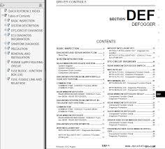 nissan cube model z12 series 2013 service manual pdf repair