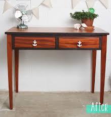 mahogany anchor desk