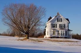 new england farmhouse my world in winter fvisions