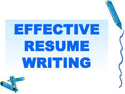 Effective Resume Writing Samples by Resume Writing Tips