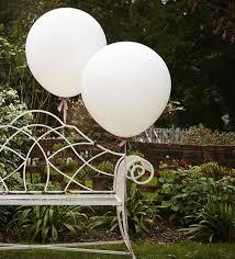 1 large big white balloons high quality wedding
