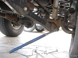 lowered 98 jeep grand cherokee jeep control arm install