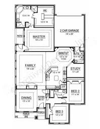 First Texas Homes Floor Plans by Spyglass Narrow Floor Plans Texas House Plans
