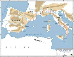 World Map Of Italy by Map Of Hannibal U0027s Invasion 218 Bc