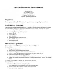 Sample Entry Level Accounting Resume by Entry Level Accounting Job Resume Samples Accounting Intern