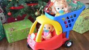 my baby alive doll and stealing presents the