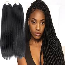 best synthetic hair for crochet braids synthetic faux locs braiding hair crochet braid twist 18inch 100g