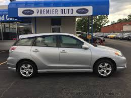 2005 used toyota matrix 5dr wagon xr manual at premier auto