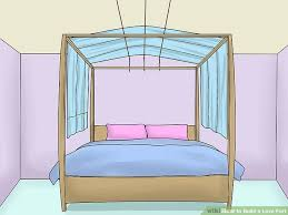 Bed Fort 3 Ways To Build A Love Fort Wikihow