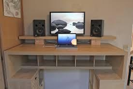 Ikea Stand Desk Sit Stand Desk Top Workstation Brubaker Desk Ideas
