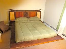 platform bed with led lights floating platform bed with led lights and carving by craftsman on