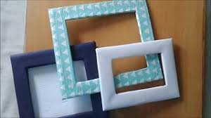 cardboard picture frames diy diy do it your self