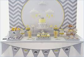 yellow and gray baby shower decorations colors yellow and gray elephant baby shower supplies with grey