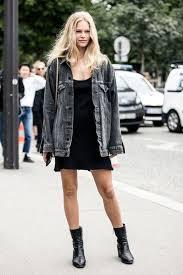 jacket lefashion blogger tank top dress black dress denim