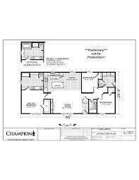 100 mobile floor plans superior craftsman manufactured