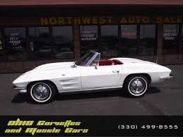 64 corvette specs ermine white 1964 chevrolet corvette sting for sale mcg