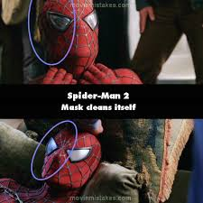 spider man 2 2004 movie mistakes goofs and bloopers all on